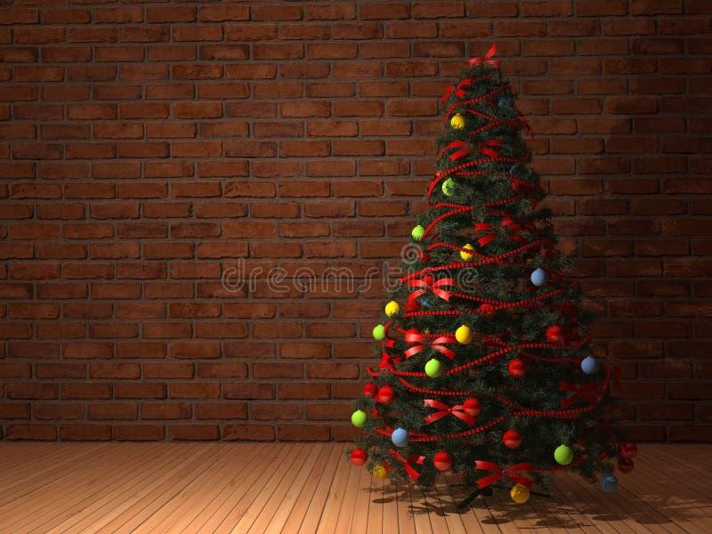 Christmas tree. royalty free illustration