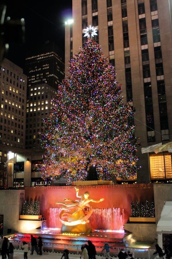 Download Christmas Tree Lighting Celebration At Rockefeller Editorial Image - Image: 18888155