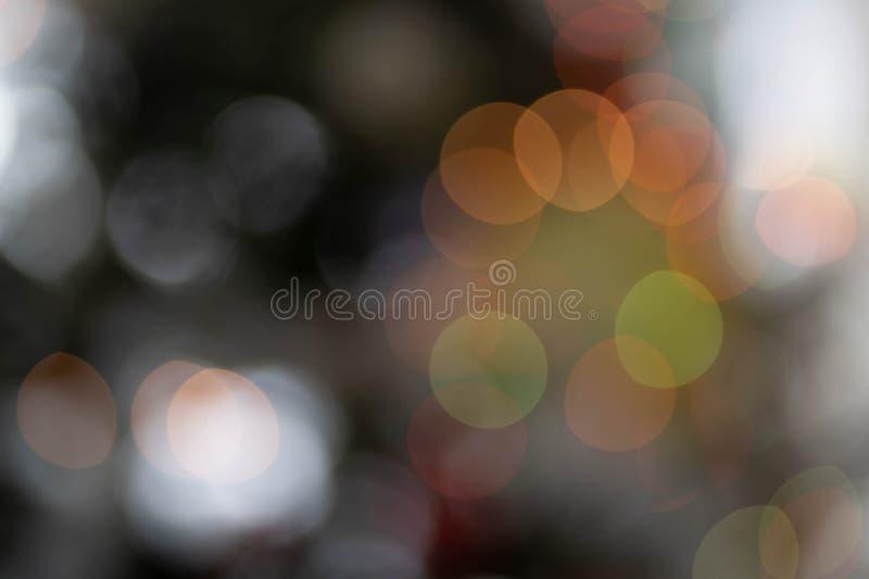 Christmas Tree Lights Bokeh Detail stock image