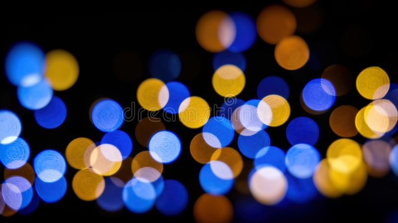 Christmas tree lights royalty free stock photography