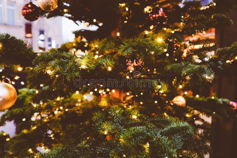 Christmas Tree Lights Free Public Domain Cc0 Image