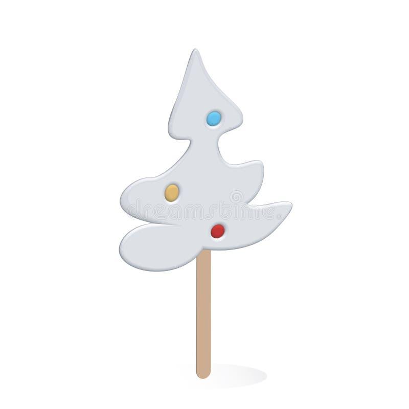 Christmas tree lollipop