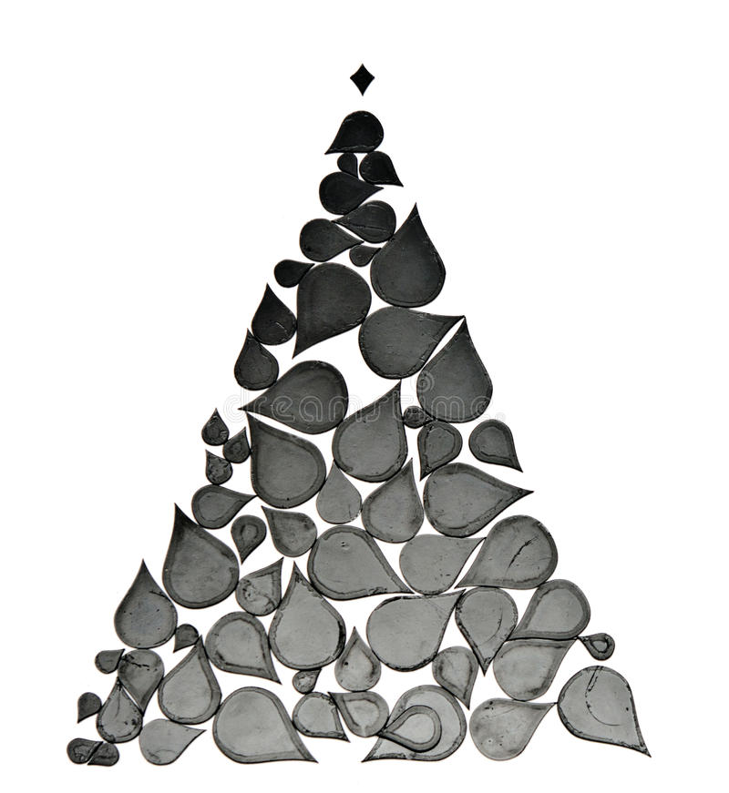 Download Christmas Tree Made From Abstract Elements Stock Photo - Image of decor, handmade: 34689676