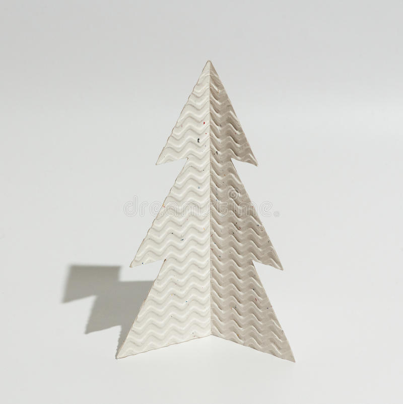christmas tree made of paper stock image image of decorative