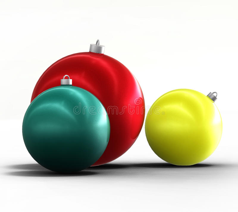 Download Christmas Tree And New Year Ornaments Winter Decor Royalty Free Stock Photo - Image: 16966835