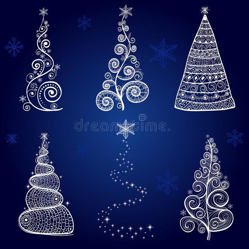 Christmas tree objects graphic arts stock photography