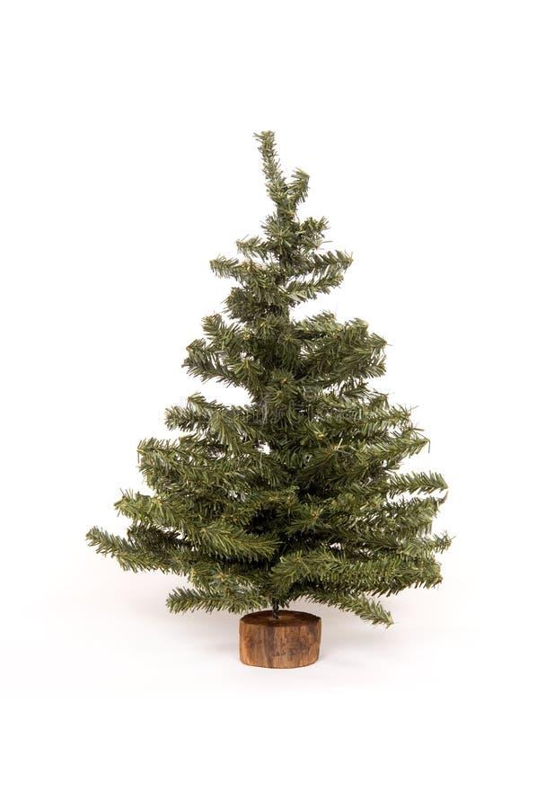 Free Christmas Tree On White Background Stock Photo - 1554710