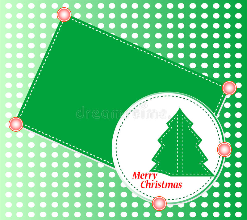 Download Christmas Tree With Ornaments. Christmas Theme Stock Vector - Image: 22431696