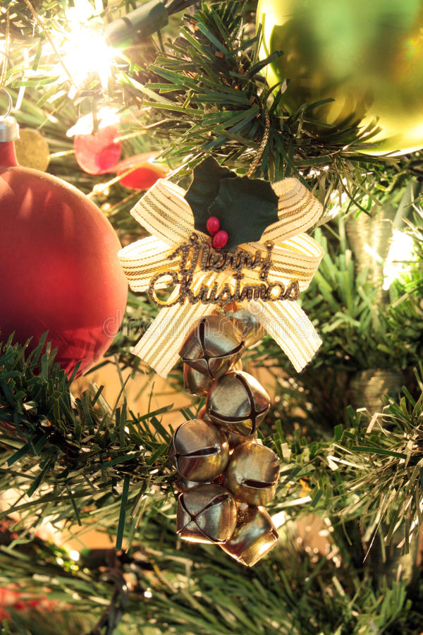 Christmas Tree Ornaments royalty free stock image