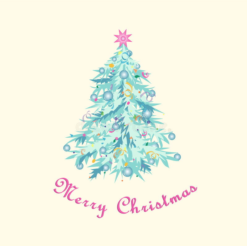 Download Christmas Tree, Pastel Shades Royalty Free Stock Photo - Image: 6941335