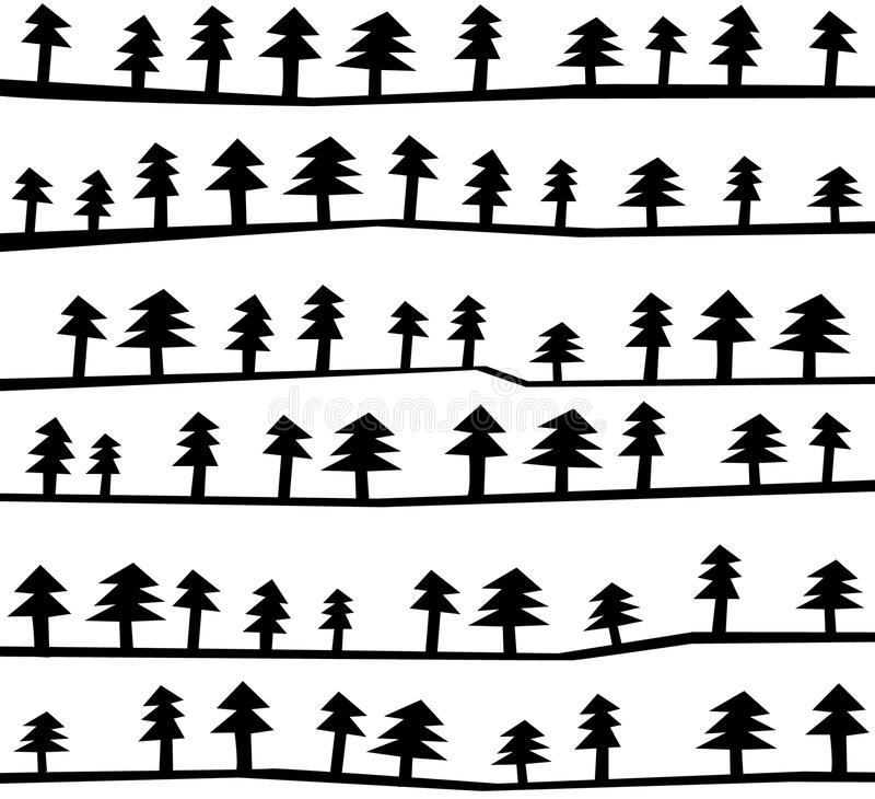 Free Christmas Tree Pattern Stock Photo - 12090390
