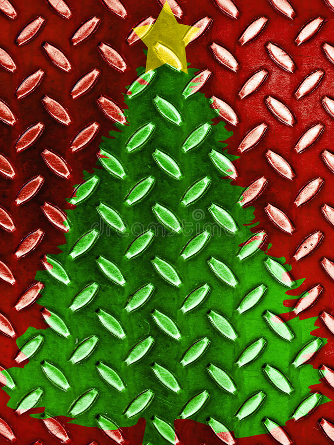 Free Christmas Tree Pattern Stock Photography - 21411382