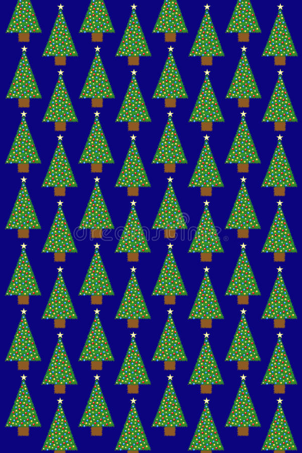 Download Christmas Tree Pattern Royalty Free Stock Photography - Image: 27731967