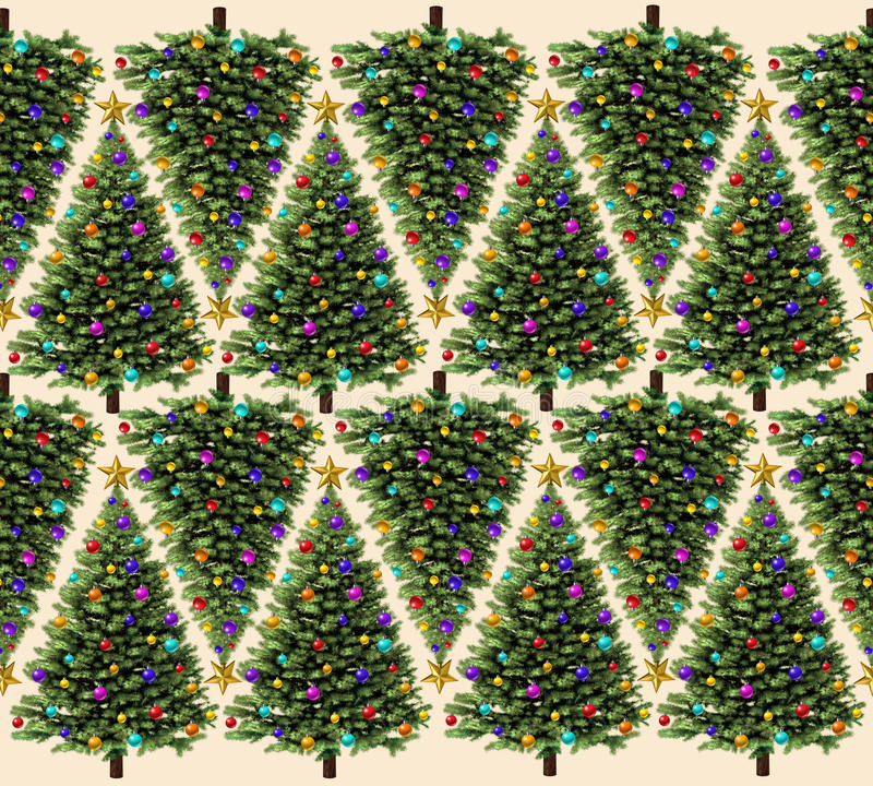 Free Christmas Tree Pattern Stock Photo - 32575790