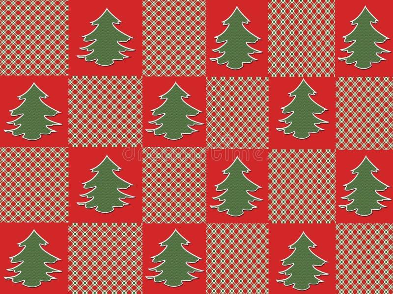 Download Christmas Tree Plaid stock illustration. Illustration of trees - 7172934