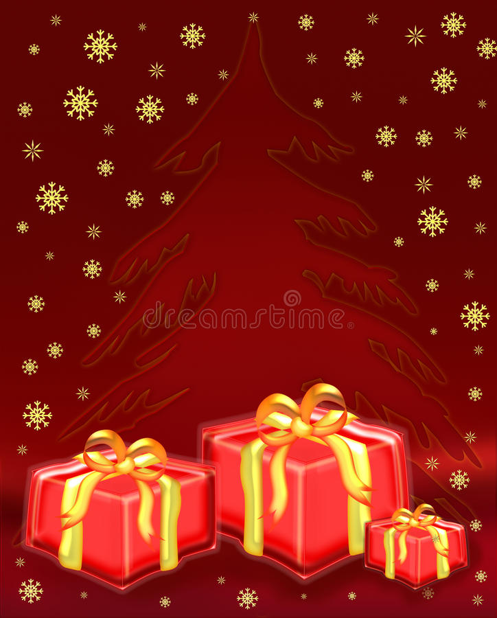 Download Christmas Tree With Presents Stock Illustration - Image: 11938220