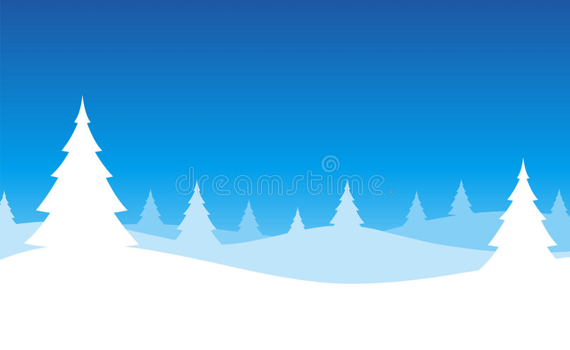 Download Christmas Tree Scene stock illustration. Image of collage - 7018757