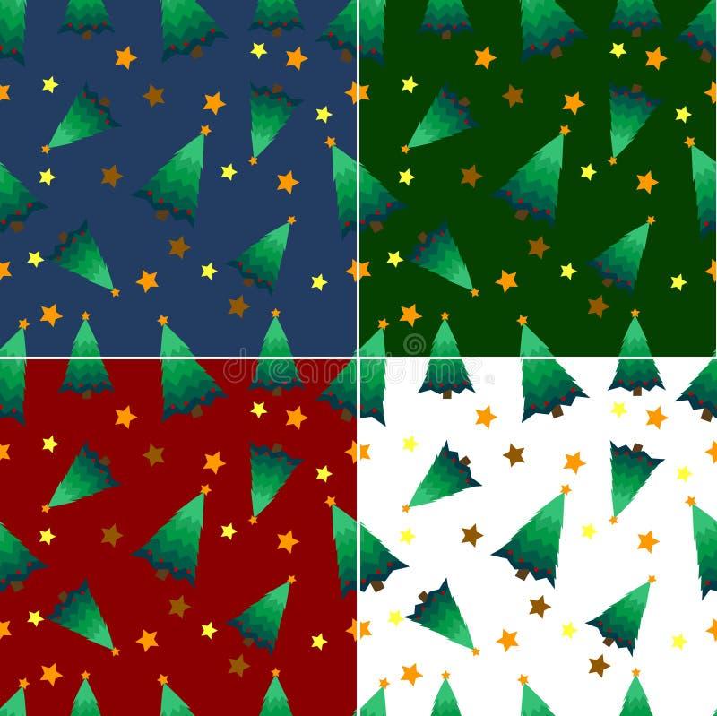 Download Christmas Tree Seamless  Pattern Stock Image - Image: 16580731