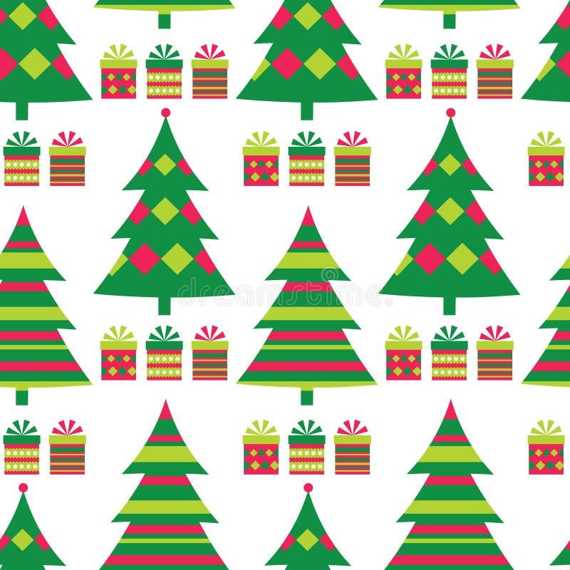 Download Christmas Tree Seamless Pattern Stock Photos - Image: 22097703