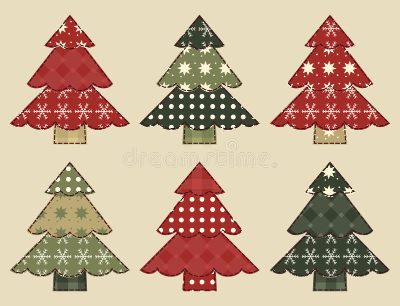Download Christmas Tree  Set 3 Stock Photography - Image: 27872622