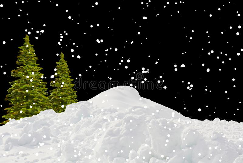 Christmas Tree, Sky, Winter, Snow Free Public Domain Cc0 Image