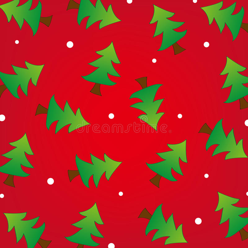 Download Christmas Tree And Snow Background Stock Vector - Image: 27613733