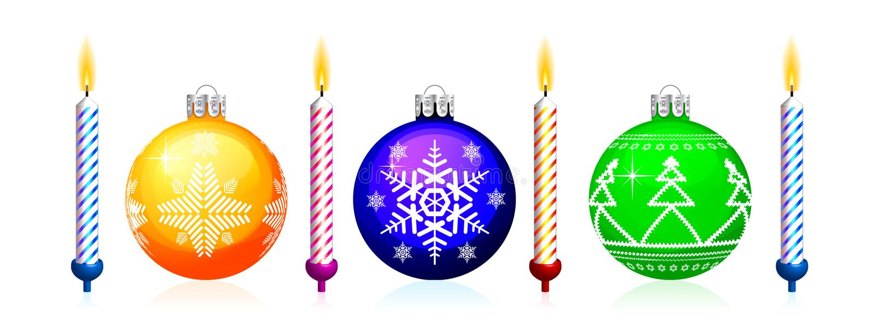 Christmas Tree Sphere Royalty Free Stock Image
