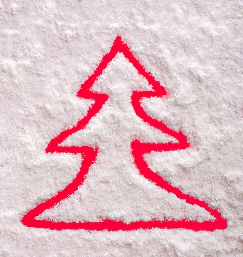 Christmas Tree Symbol Royalty Free Stock Photography