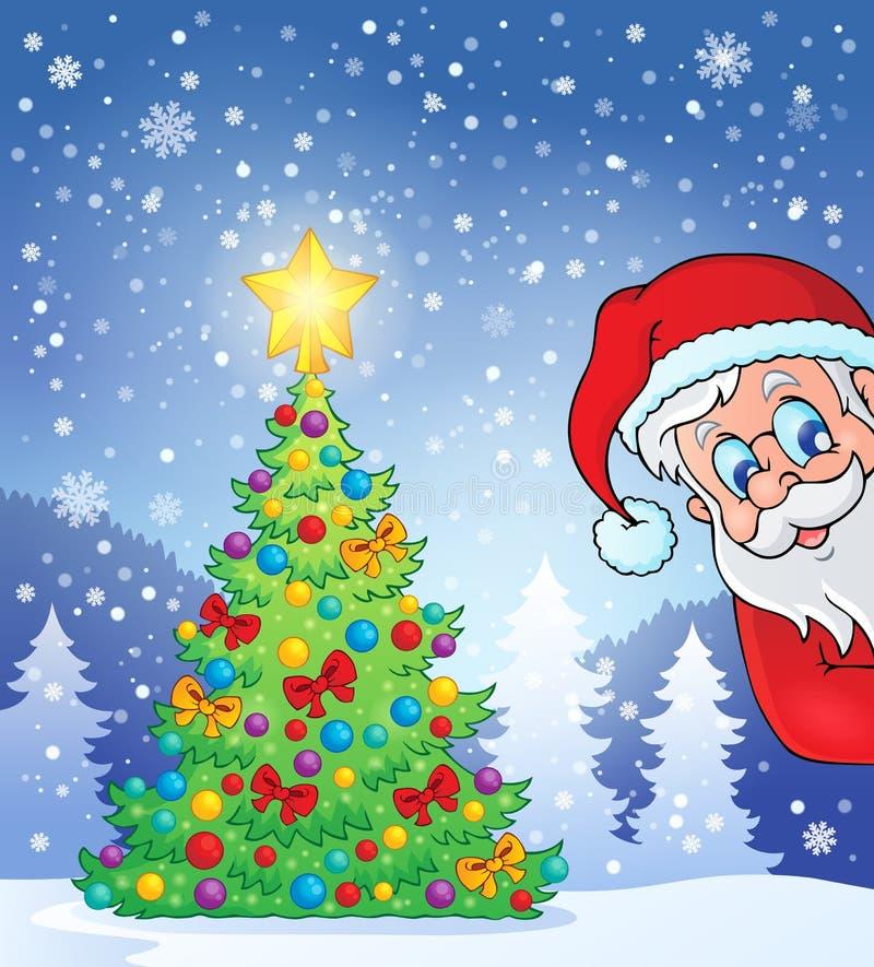 Free Christmas Tree Theme 7 Royalty Free Stock Photos - 47649208