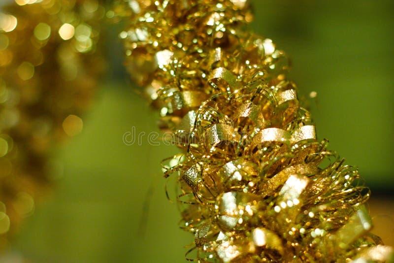 Download Christmas tree tinsel stock image. Image of shiny, tinsel - 12105253