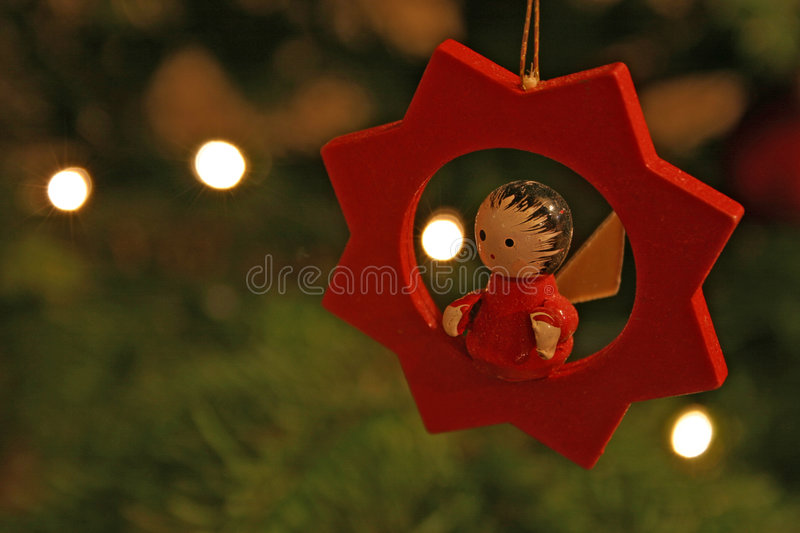 Christmas tree toy stock images