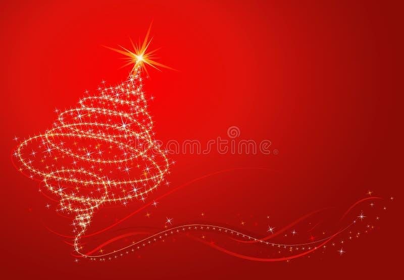 Christmas tree, vector vector illustration