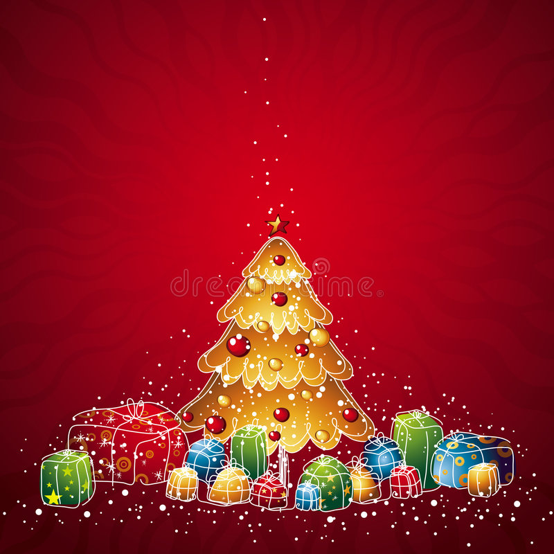 Free Christmas Tree, Vector Stock Photography - 3582562