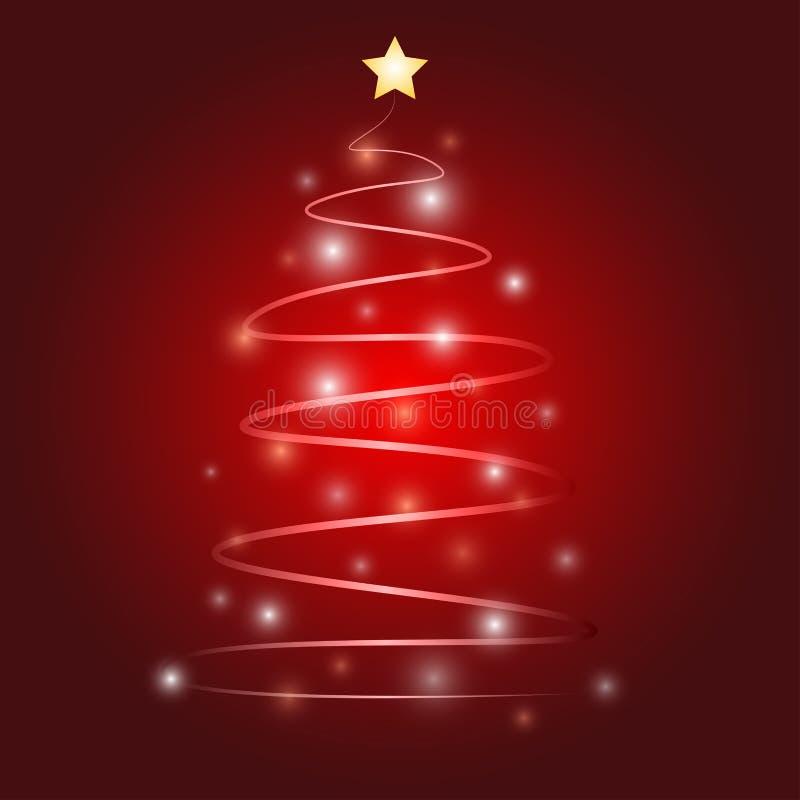 Christmas tree vector design vector illustration