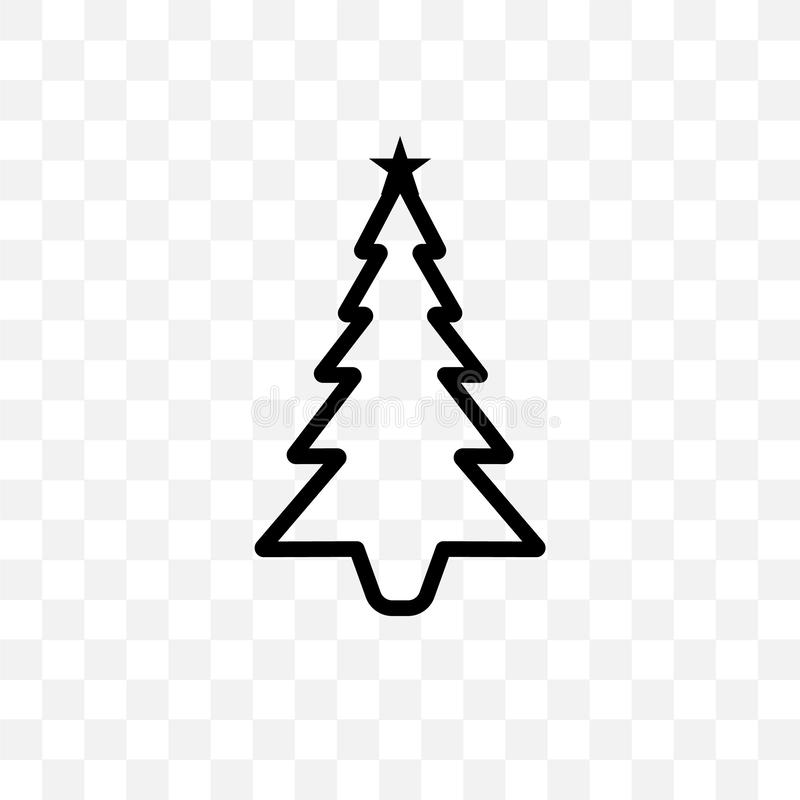 christmas tree vector linear icon isolated on transparent background christmas tree transparency concept can be used for web and stock vector illustration of logo outline 130975680 christmas tree vector linear icon
