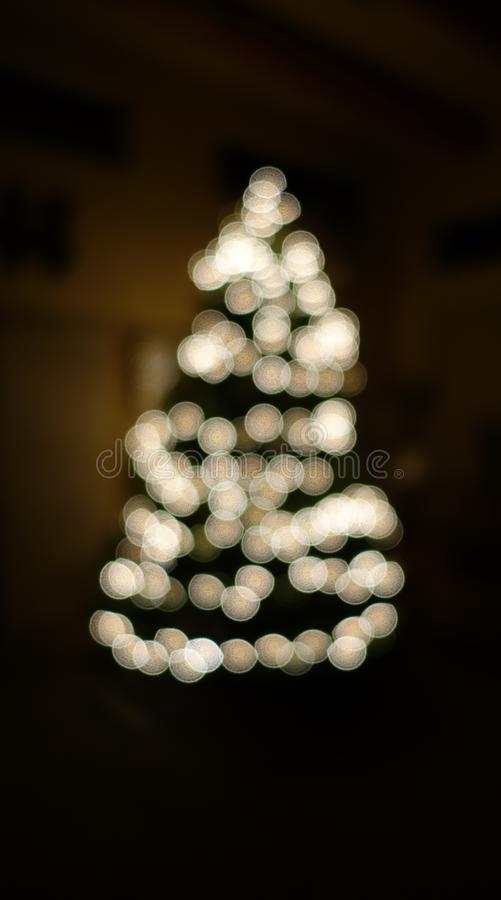 download christmas tree white lights blurry royalty free stock photos image 35953418 - Christmas Tree White Lights