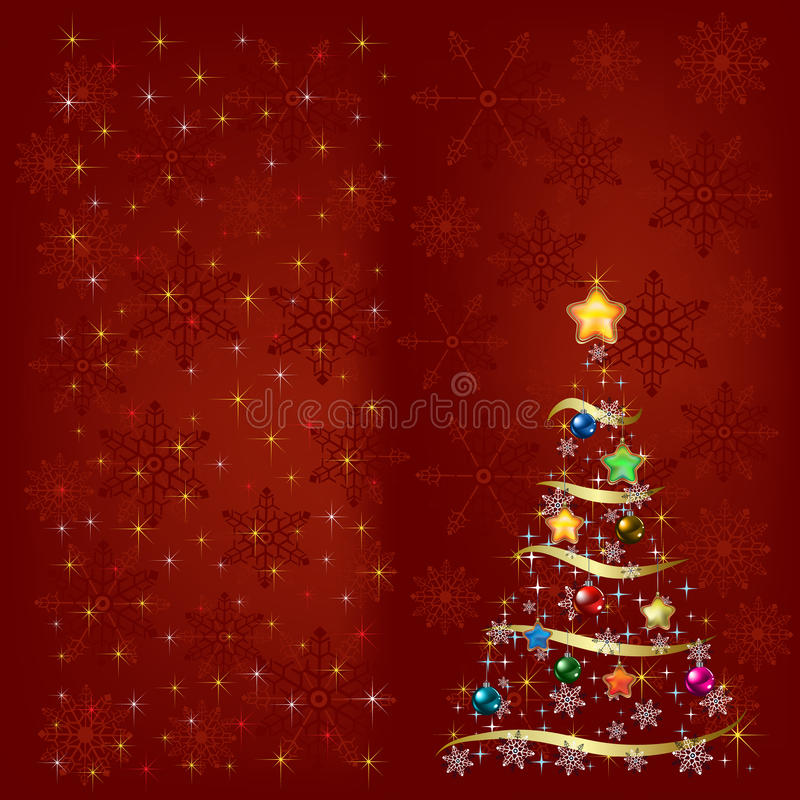 Free Christmas Tree With Decoration Stock Images - 16912444