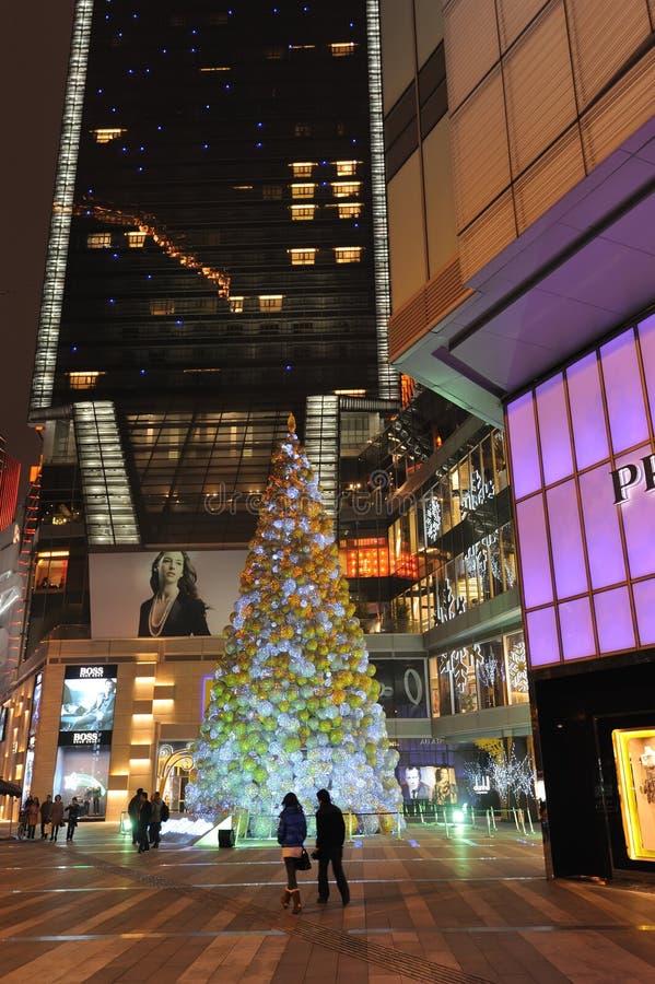Download Christmas Tree In Yanlord Landmark Editorial Stock Image - Image: 22474269
