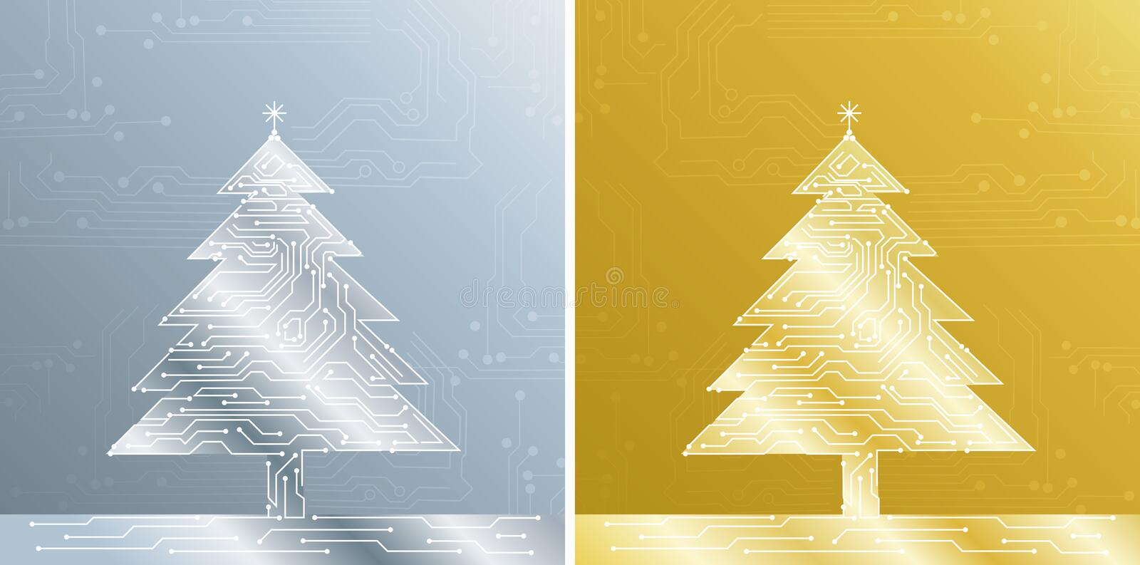 Download Christmas Treee, Vector Royalty Free Stock Photography - Image: 3671937