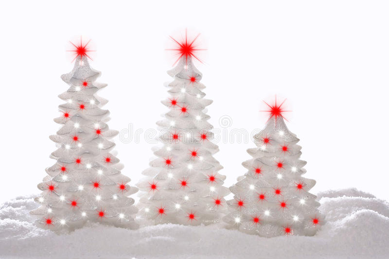 Download Christmas trees stock image. Image of holiday, objects - 16724335