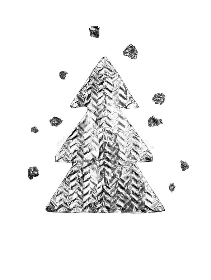 Download Christmas trees stock image. Image of chrome, design - 26734303
