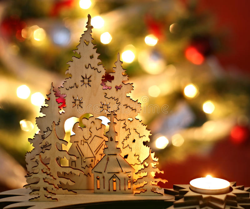 Download Christmas trees stock image. Image of warmth, december - 27030207
