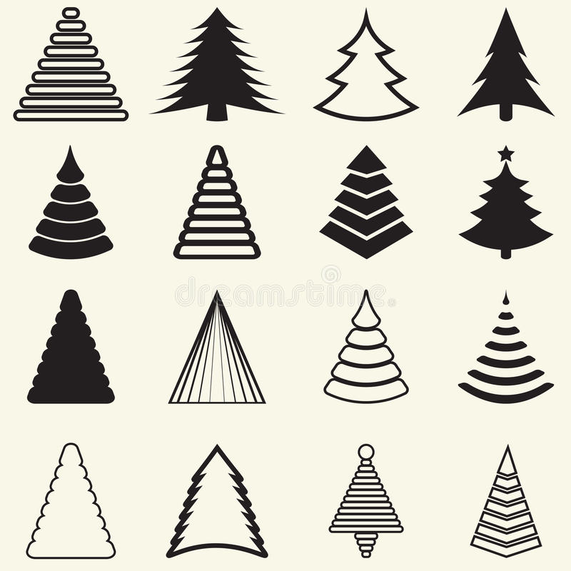Free Christmas Trees Royalty Free Stock Image - 35423266