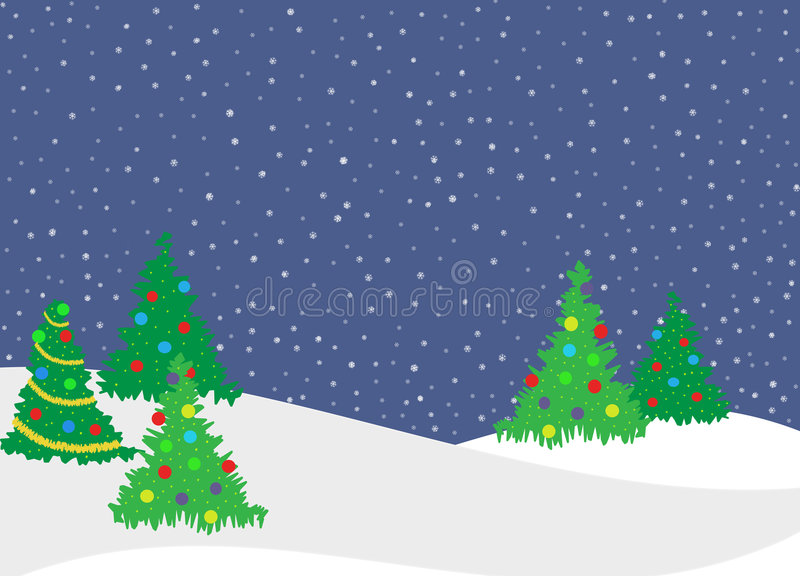 Download Christmas Trees Stock Photo - Image: 6003180