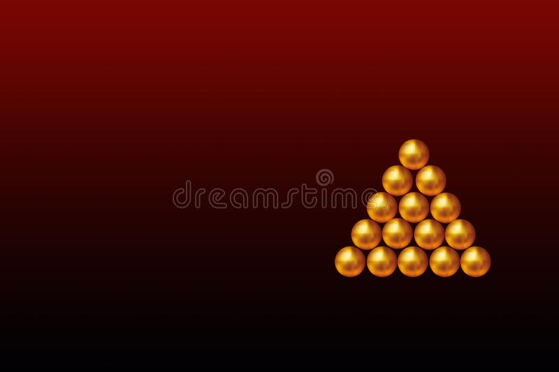 Christmas trees, abstract designs for backgrounds vector illustration