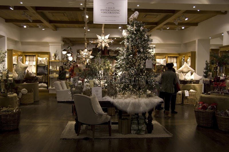 Christmas trees home goods store