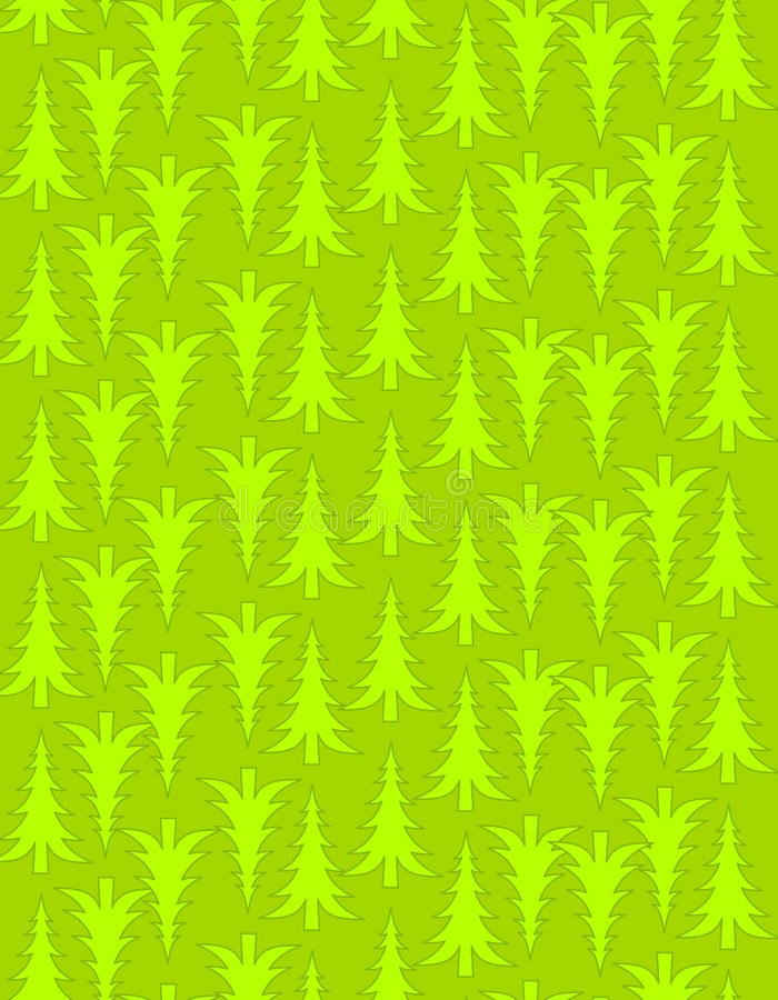 Download Christmas Trees Pattern stock illustration. Illustration of backgrounds - 6989613
