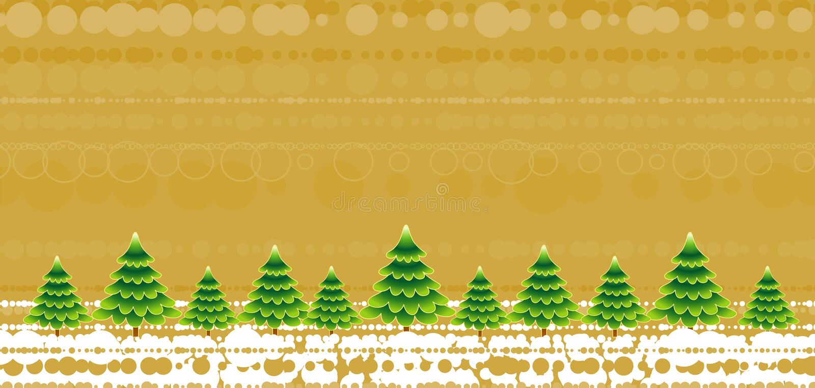 Download Christmas Trees,vector Stock Photo - Image: 1410700