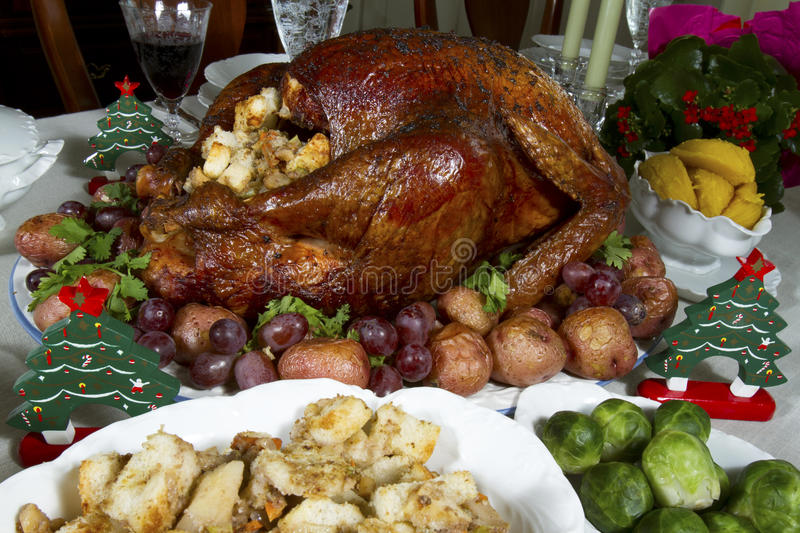 Download Christmas Turkey stock image. Image of holiday, feast - 33486561