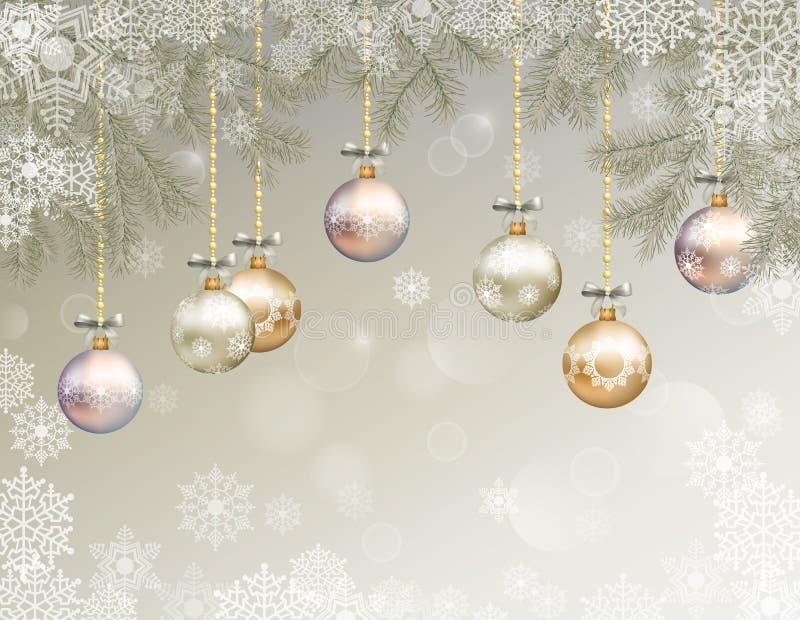 Christmas Vector Background vector illustration
